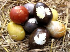 Natural Dyes for Easter Eggs & other Items
