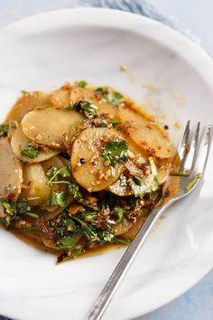Amazing Chinese Spicy Potato Salad   China Sichuan Food