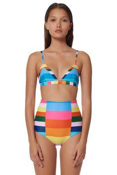 31bc35c1ef Triangle Bralette Bikini Top