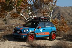 Mini Countryman with Paceman lift kit. Sweet? Sweet!