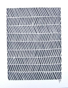 LINOCUT PRINT geometric pattern grey chevron by thebigharumph Surface Pattern, Pattern Art, Surface Design, Pattern Design, Geometric Patterns, Textile Patterns, Print Patterns, Concrete Art, Linocut Prints