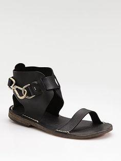 e7d3d4f5a3abdc Maison Margiela - Ankle Cuff Sandals. Garra