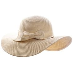 Ayliss Women Floppy Derby Hat Wide Large Brim Beach Straw Sun Cap (685 RUB) ❤ liked on Polyvore featuring accessories, hats, brimmed hat, straw bowler hat, bowler hat, straw beach hat and floppy beach hat