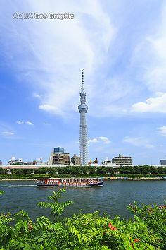 東京スカイツリー 隅田川 水上バス