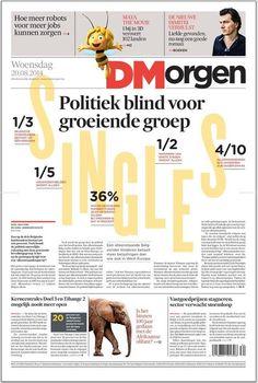 [BE] Politiek blind voor groeiende groep (De Morgen, 20-08-2014)