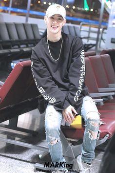 MARK he's like the Korean version of Justin bieber