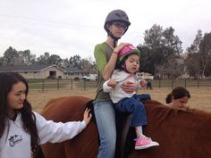 Annabelle Rides @ The Heart Of The Horse Therapy Ranch.