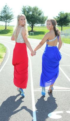 Track Prom Picture