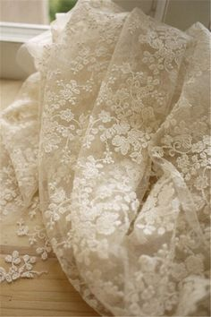 1 yard Width 51.18 inches ivory lace fabric,flowers embroidered lace,Cotton floral lace trim,3D lace fabric,lace for DIY dress,130CM(86-11) by POPOLace on Etsy https://www.etsy.com/au/listing/222323986/1-yard-width-5118-inches-ivory-lace