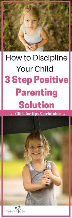 New to positive discipline? Try this three-step system and change your parenting today. ACT instead of REact to your child. Connect and teach-- empower your child to change their behavior. #parenting #positiveparenting #discipline #childrensbehavior #emotions #emotionregulation #toddlers #preschoolers