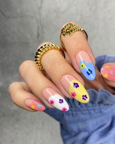 Nail Design Stiletto, Nail Design Glitter, Stylish Nails, Trendy Nails, Gorgeous Nails, Perfect Nails, Do It Yourself Nails, Nagellack Design, Acylic Nails