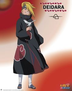 Poster Naruto Shippuden Deidara