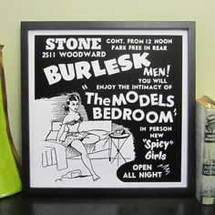 The Models Bedroom Print 16x16 now featured on Fab.