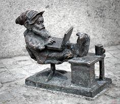 """Krasnal """"Capgeminiusz Programista"""", Wrocław - zdjęcia"""