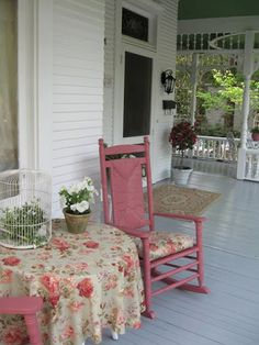 Country Porch!