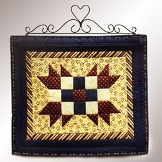 Have to have it. J & J Wire Heart Quilt Rack $35