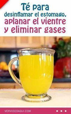 Té para desinflamar el estomago, aplanar el vientre y eliminar gases #adelgazar #vientre #eliminar #gases #plano #barriga #bebida #te