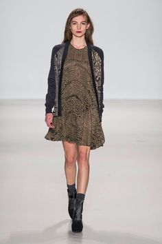 Pin for Later: 50 Fashion Week Looks That Prove the Catwalk Is Wearable Nanette Lepore Autumn/Winter 2014