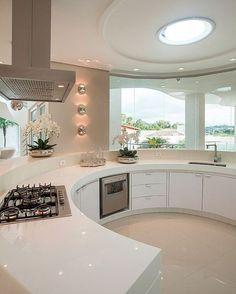"""Da série """"Um sonho de cozinha"""" Projeto by Iara Kilaris   @_decor4home"""