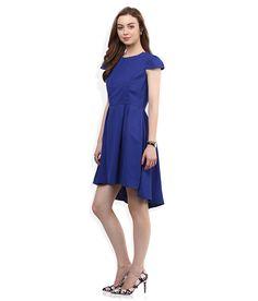 United Colors of Benetton Blue Skater Dress