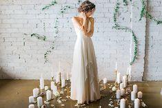 J Petite: Goddess-Inspired Bridal Shoot in Cleo & Clementne: The Goddess