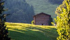 Hay barn - Riezlern #kleinwalsertal #visitvorarlberg Hay Barn, Bavaria Germany, Morning Light, Alps, Austria, Festivals, House Styles, Painting, Life