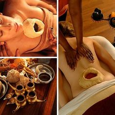 A Short Ayurvedic Massage Guide For Science Fiction Movies Spa Treatment Room, Body Treatments, Massage Therapy Rooms, Spa Therapy, Massage Room, Ayurvedic Therapy, Ayurvedic Healing, Ayurveda Vata, Health Fitness