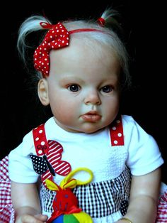 Reborn Baby Girl Maycee Arianna by Reva Shick