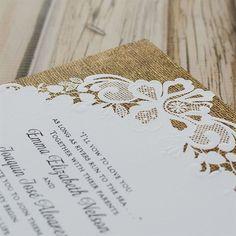 Lacy Dream Invitation | Invitations By Dawn Create Wedding Invitations, Lace Invitations, Burlap Backdrop, Lace Design, Dawn, Backdrops, Stationery, Rustic, Country Primitive