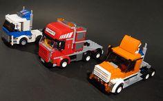 LEGO City Tractors