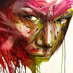 Art By hopare  http://mycreativeside.fr/hopare-street-art/