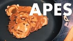 Pancake art is unbelievable!  So clever