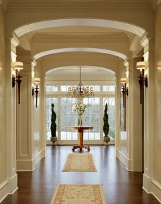 Shingle Style Home - Westport, CT - Cardello Architects - Serving Westport, Darien, New Canaan, Greenwich and Fairfield County House Inspo, Shingle Style Homes, Home, Foyer Decorating, House Design, French Doors Interior, New Homes, Interior Design, House Interior