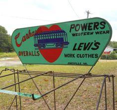 Great Carhartt Western Wear sign