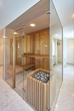 Do you want to create fabulous home sauna design ideas as your home design ideas? Creating a fabulous home sauna sounds great. In addition to making aesthetics in your home, a home sauna is very suitable for you to choose… Continue Reading → Sauna Steam Room, Sauna Room, Basement Sauna, Spa Interior, Bathroom Interior Design, Saunas, Sauna Wellness, Escape Room Puzzles, Sauna Design