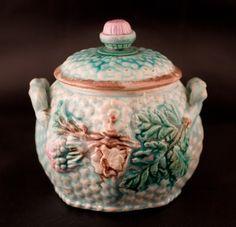 Turquoise basketweave/floral sugar