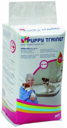 Savic Puppy Trainer Refill 50 Pads Medium *** Check out the image by visiting the link. (This is an affiliate link and I receive a commission for the sales) Best Puppies, Small Puppies, Chihuahua Puppies, Rabbit Litter, Puppy Trainer, Puppy Pads, Dog Training Pads, Pad Design, Medium Dogs