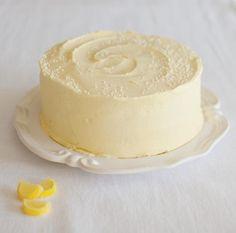 Triple Lemon Layer Cake - from 'Butter Baked Goods' : yahoo food - June 2015 Lemon Desserts, Just Desserts, Delicious Desserts, Dessert Recipes, Lemon Layer Cakes, Layer Cake Recipes, Cupcakes, Cupcake Cakes, Yummy Treats