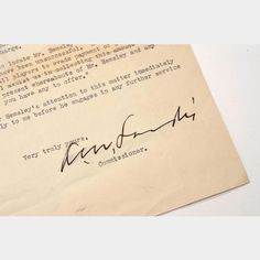Kenesaw Mountain Landis Letter and Autograph | The Cincinnati Auction Company, LLC