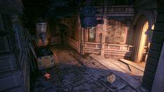 ArtStation - Batman Arkham Knight - Panessa Studios - Hub, Ronan Mahon