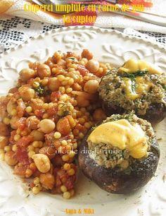 » Ciuperci umplute cu carne de pui la cuptorCulorile din Farfurie