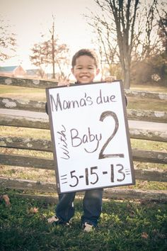 23 adorable photo pregnancy announcements | #BabyCenterBlog