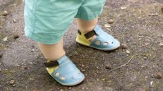 Soft sole, leather sandals #barefoot #kids
