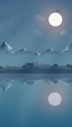 New Moon Iphone Wallpaper Free – GetintoPik Iphone Backgrounds Tumblr, Wallpaper Backgrounds, Iphone Wallpapers, Apple Wallpaper, Wallpaper Ideas, Minimalist Wallpaper, Minimalist Art, Landscape Wallpaper, Landscape Art