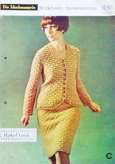 1960s Crochet - Die Schachenmayrin Handarbeitsblatt 1965/12