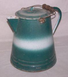 Antique Coffee Pot Graniteware