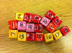Starburst Seating: Easy and fun way to randomize seats! Could work to group up by color as well!