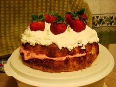 Passover birthday cake
