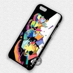 Retro Band The Beatles Vector Art - iPhone 7 6 5 SE Cases & Covers