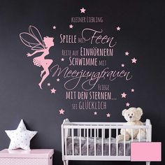 Kinderzimmer wandgestaltung feen  50 best Kinderzimmer ▷ Fee / Elfe images on Pinterest | Advertising ...